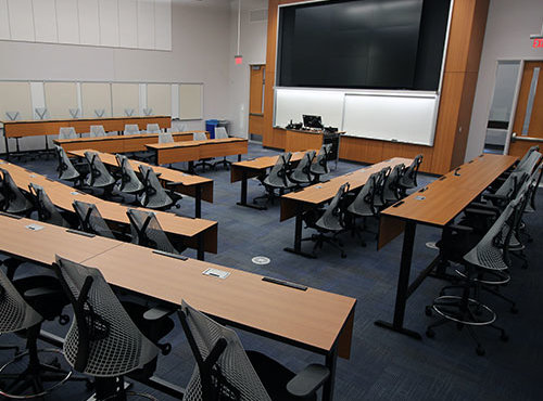 McCord Hall Classroom Renovation