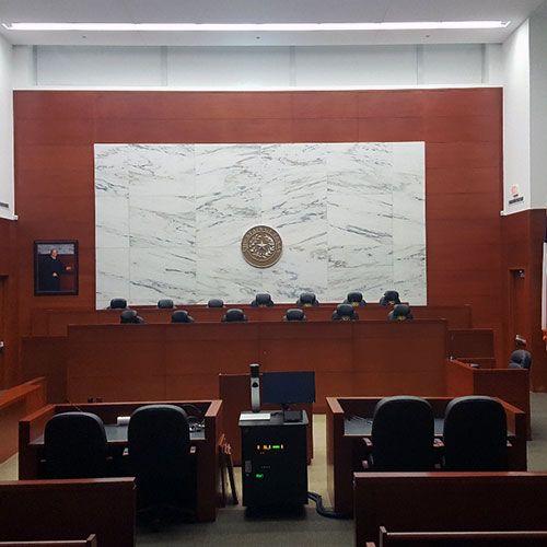 Merrill Hartman Courtroom