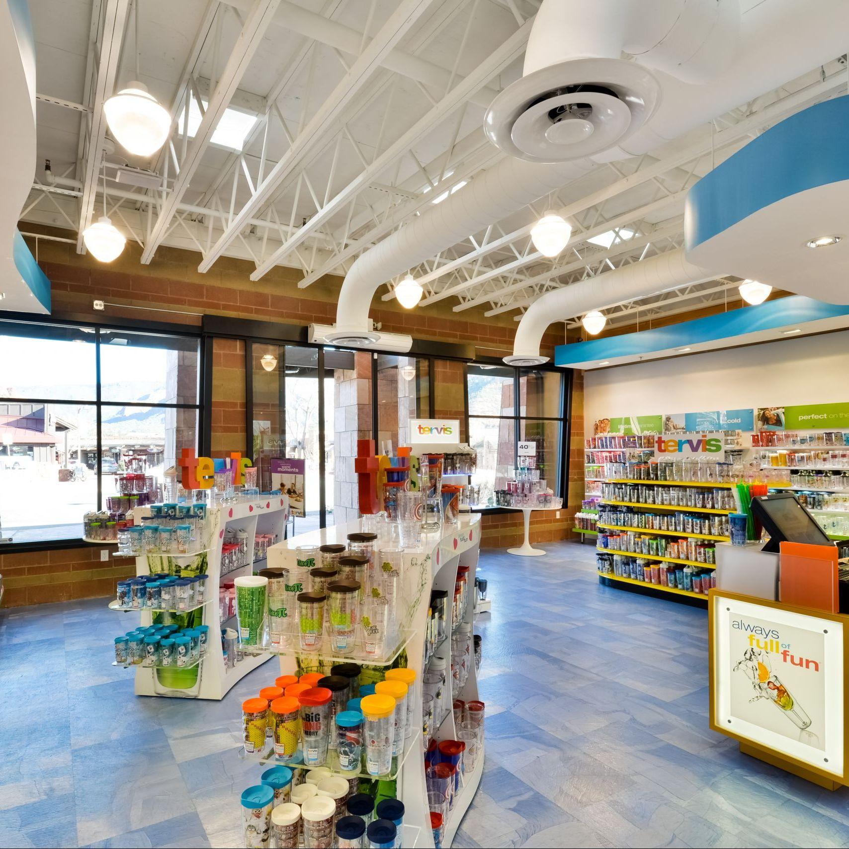 C-Market Shop Interior
