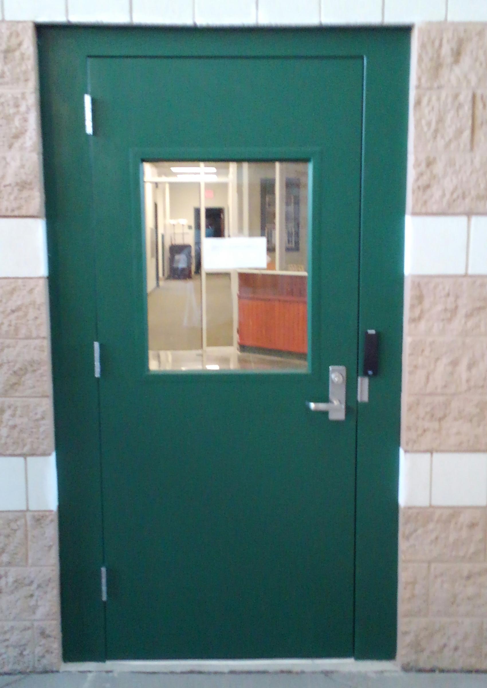 Finished New Door